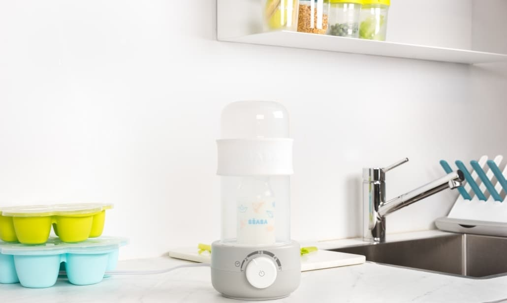 Beaba Ultra Fast Bottle Warmer - Cloud