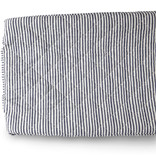 Pehr Designs Change Pad Cover- Stripes Ink Blue