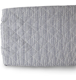 Pehr Designs Change Pad Cover- Stripes Ink Blue