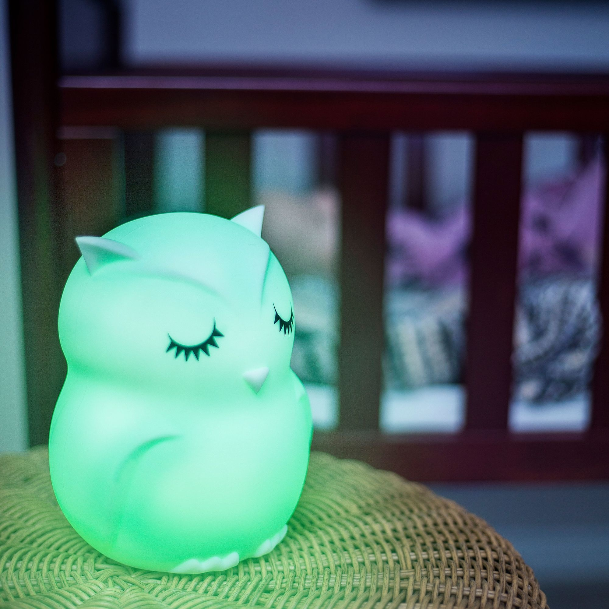 Lumieworld Lumipets LED Owl Night Light