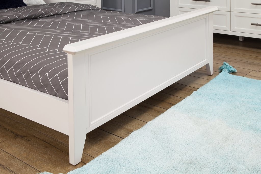Beckett Low Profile Footboard in Warm White