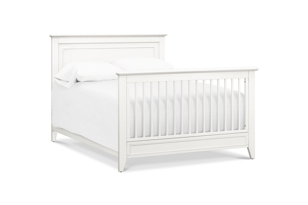 Beckett 4-in-1 Convertible Crib Warm White