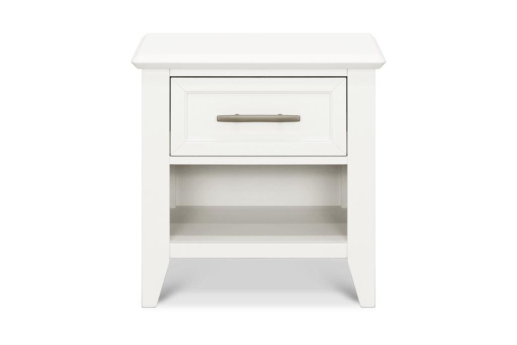 Beckett Nightstand in Warm White