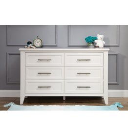 Beckett 6-Drawer Dresser in Warm White