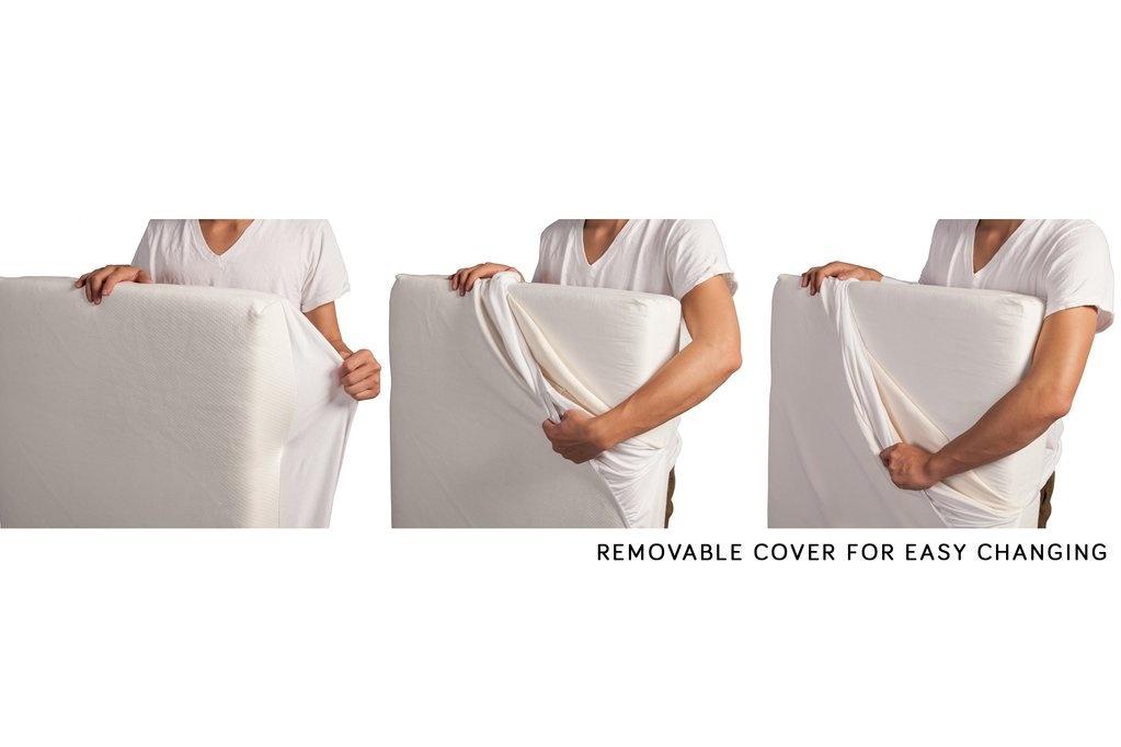 Babyletto Pure Core Non-Toxic Crib Mattress w/ Smart Cover