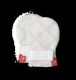 Goumikids Classic Mitts- Diamond Dots, Cream