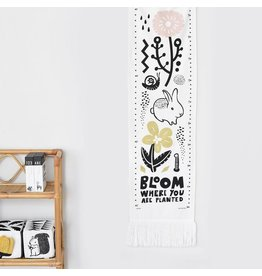 Wee Gallery Bloom Canvas Growth Chart