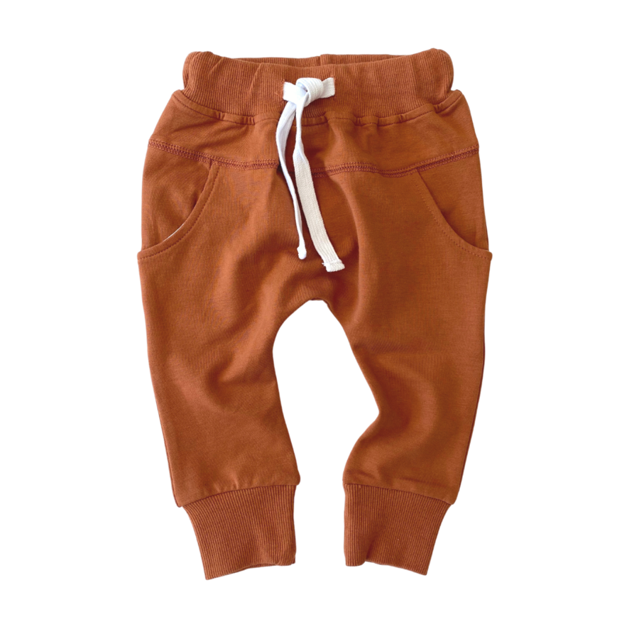 Little Bipsy LB Joggers- Rust