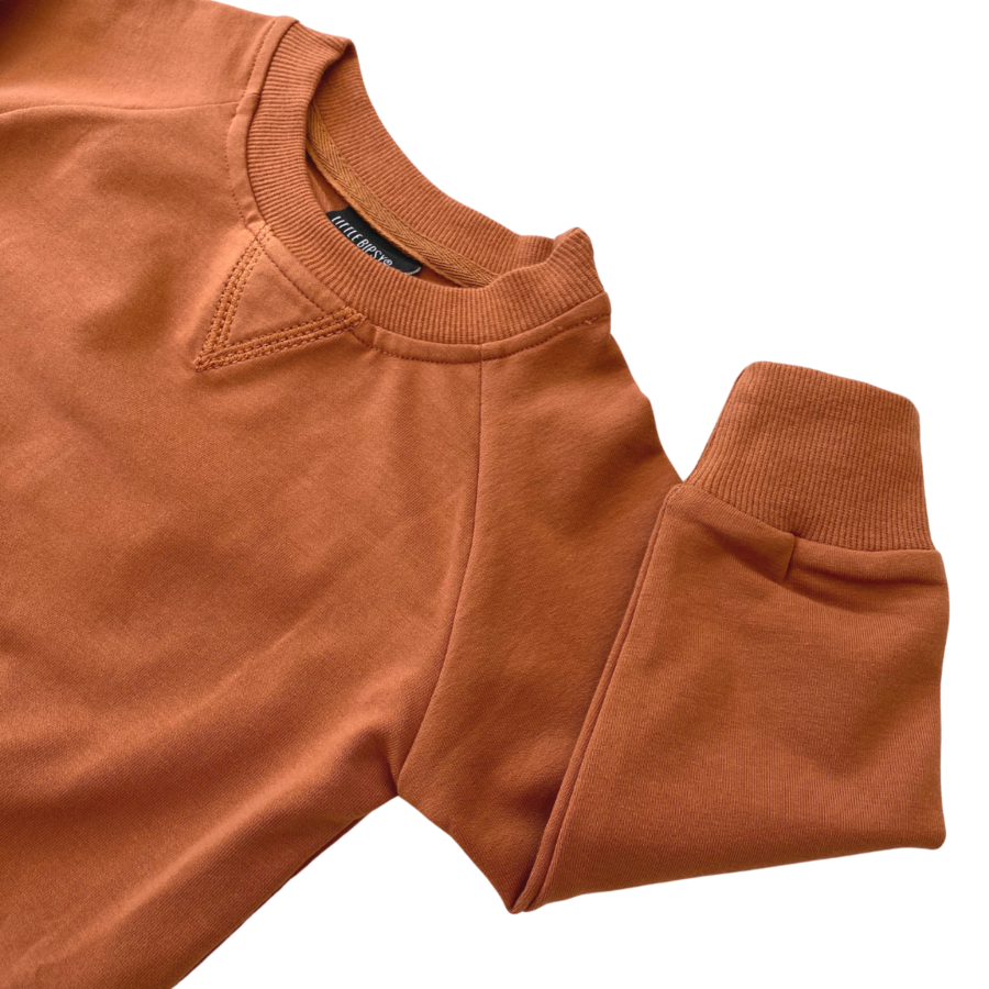 Little Bipsy LB Pullover- Rust