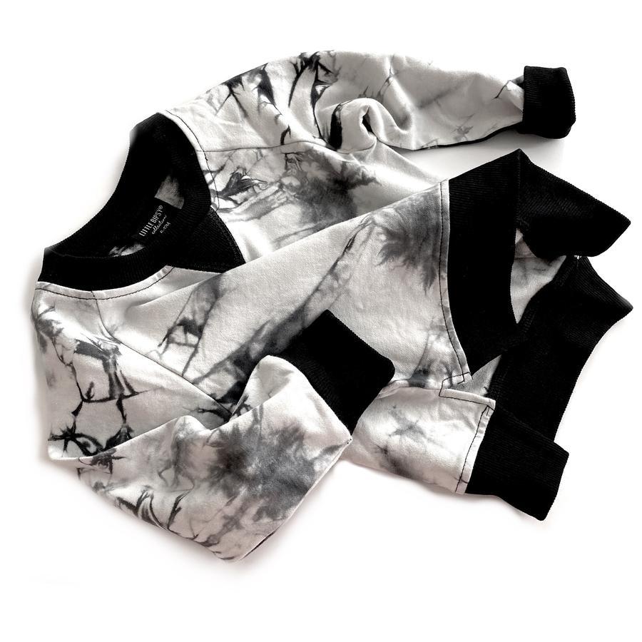 Little Bipsy LB Pullover- Black Tie Dye