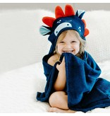Natemia Bamboo Dino Hooded Towel