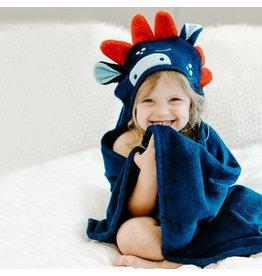 Natemia Bamboo Dino Hooded Towel