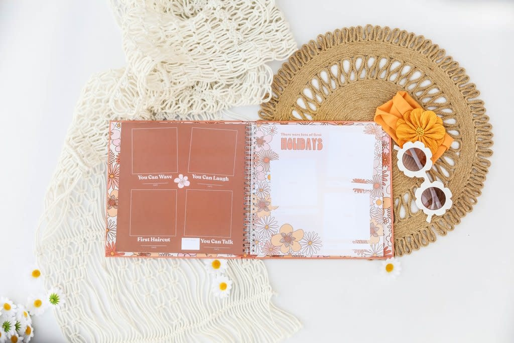Lucy Darling Flower Child Memory Book