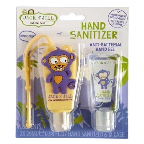 Jack N Jill Hand Sanitizer- Monkey