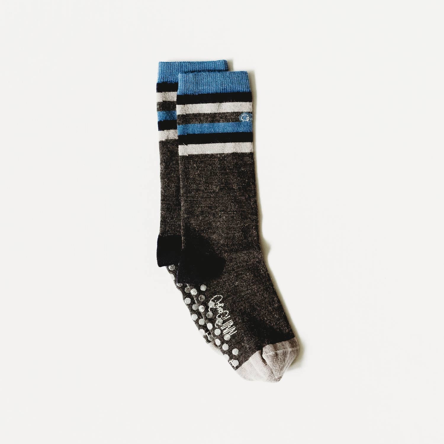 Q for Quinn Merino Wool Socks- Half Stripe
