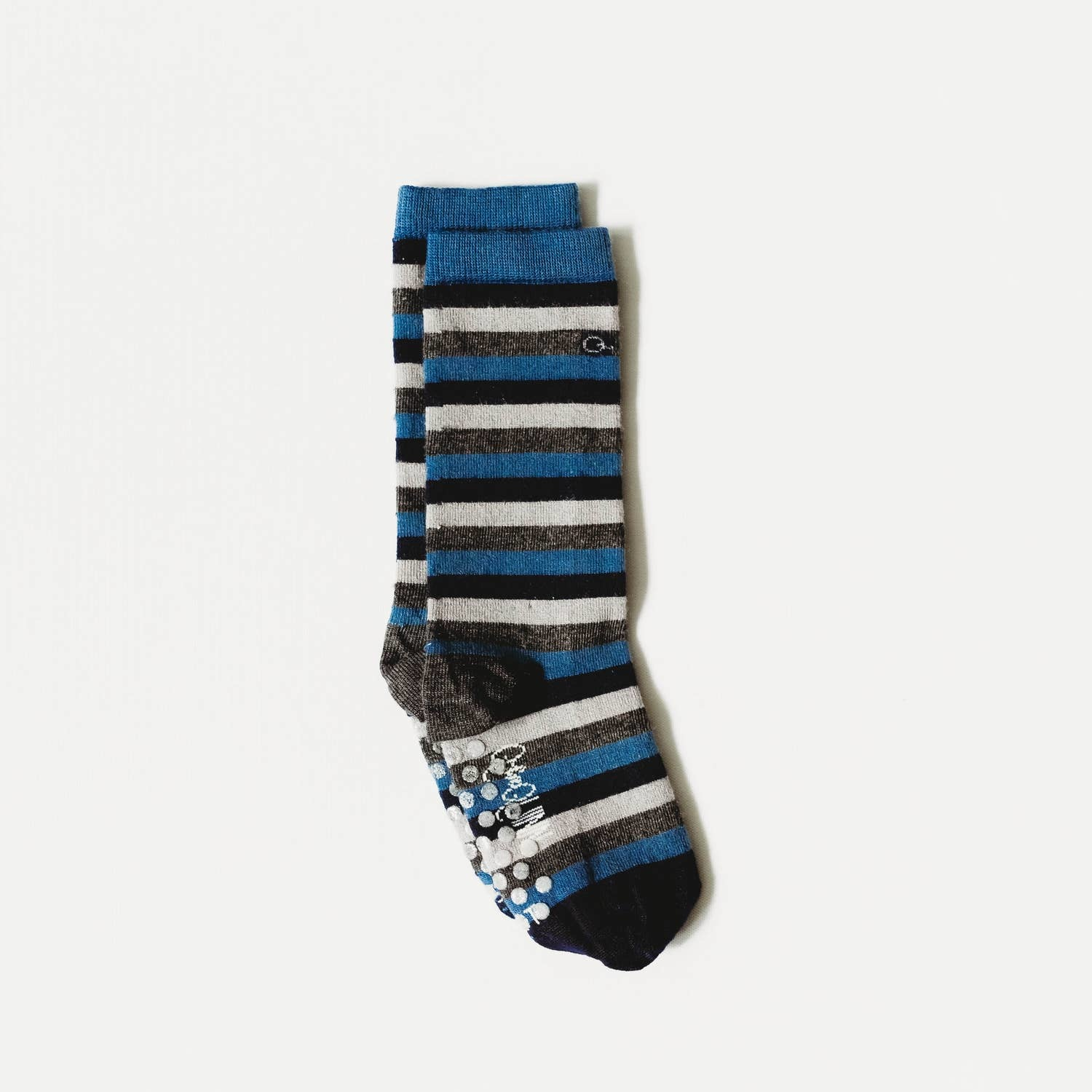 Q for Quinn Merino Wool Socks- Stripes