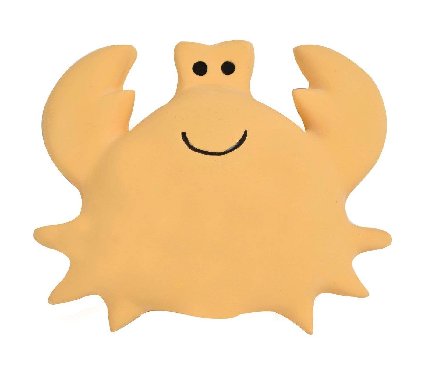 Tikiri Toys Natural Rubber Toy- Crab