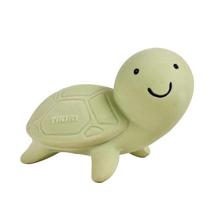 Tikiri Toys Natural Rubber Toy- Turtle