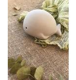 Tikiri Toys Natural Rubber Toy- Whale