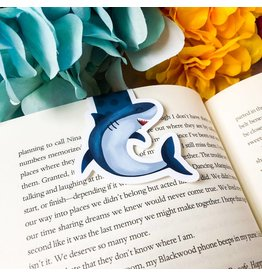 Emily Cromwell Designs Magnetic Bookmark- Great White Shark