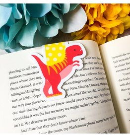 Emily Cromwell Designs Magnetic Bookmark- T Rex