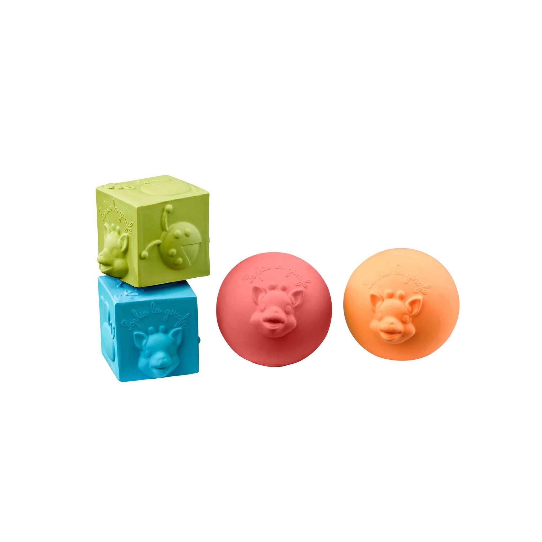 So'pure Set 2 Balls & 2 Blocks