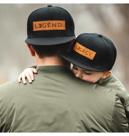 Little Arrows Legend and Legacy Genuine Leather Patch Hats