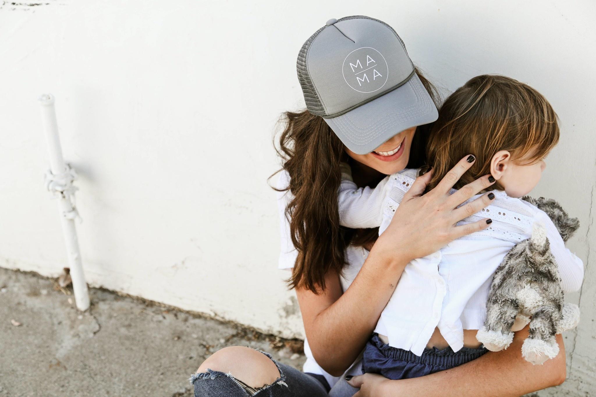 Little Arrows Circle Mama Trucker Hat