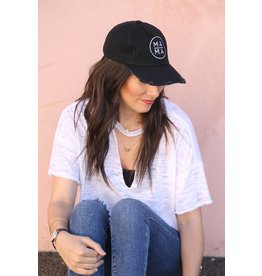 Little Arrows Circle Mama Distressed Baseball Hat