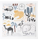 Wee Gallery Wild Life Floor Puzzle