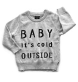 Little Bipsy LB Knit Sweater- Baby It's Cold Outside