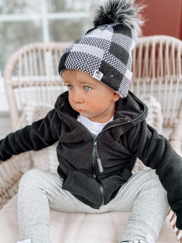 Little Bipsy LB Fleece Jacket- Black