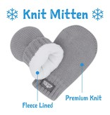 Jan & Jul Knit Mittens- Black