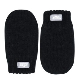 Jan & Jul Knit Mittens- Black