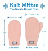 Jan & Jul Knit Mittens- Pink