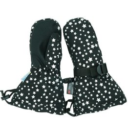 Jan & Jul Waterproof Mittens- Black Star