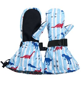 Jan & Jul Waterproof Mittens- Dino