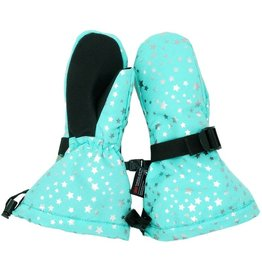 Jan & Jul Waterproof Mittens- Mint Star