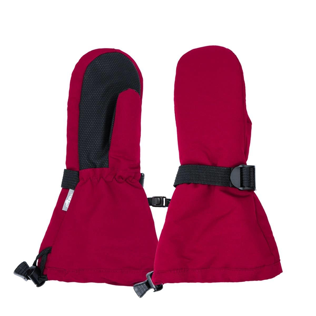 Jan & Jul Waterproof Mittens- Red