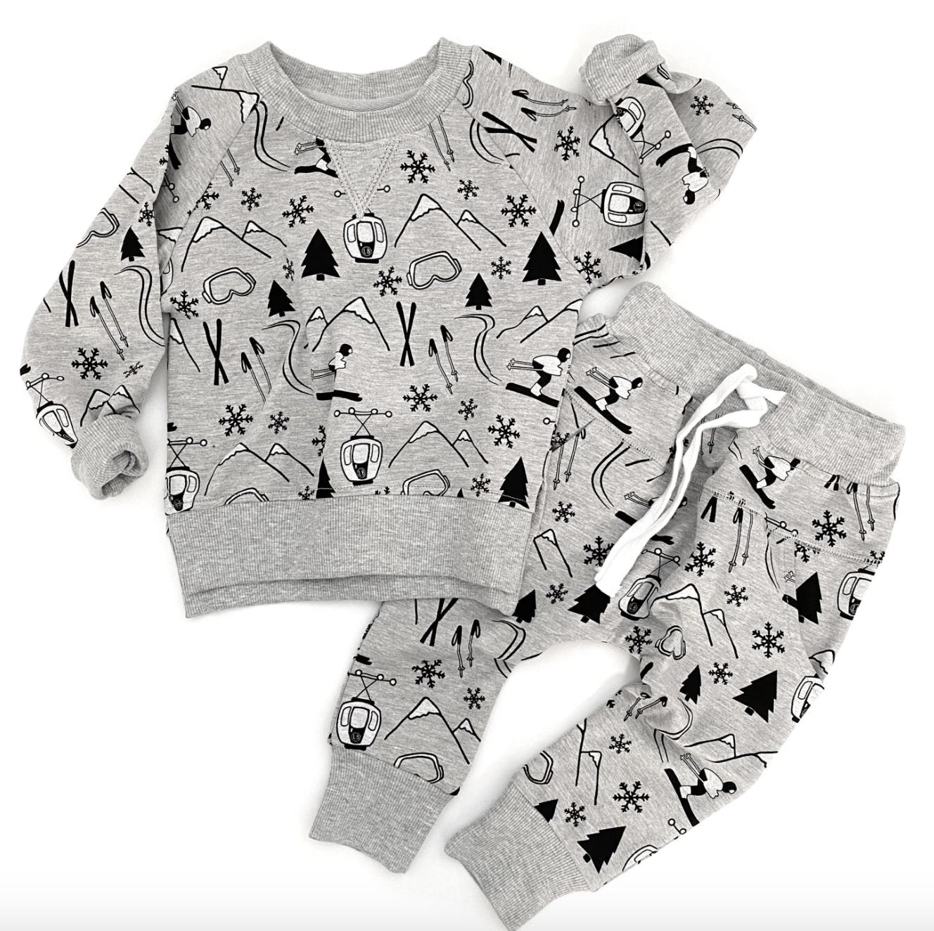 Little Bipsy LB Joggers- Winter Print