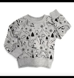 Little Bipsy LB Pullover- Winter Print