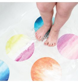 Puj Bath Treads - Watercolors