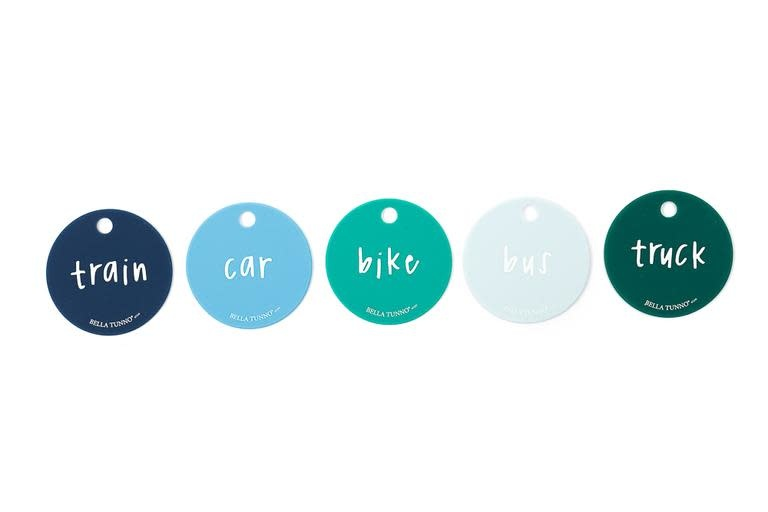 Teething Flashcards-Born to Ride
