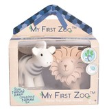 Tikiri Toys My First Zoo- Zebra and Lion