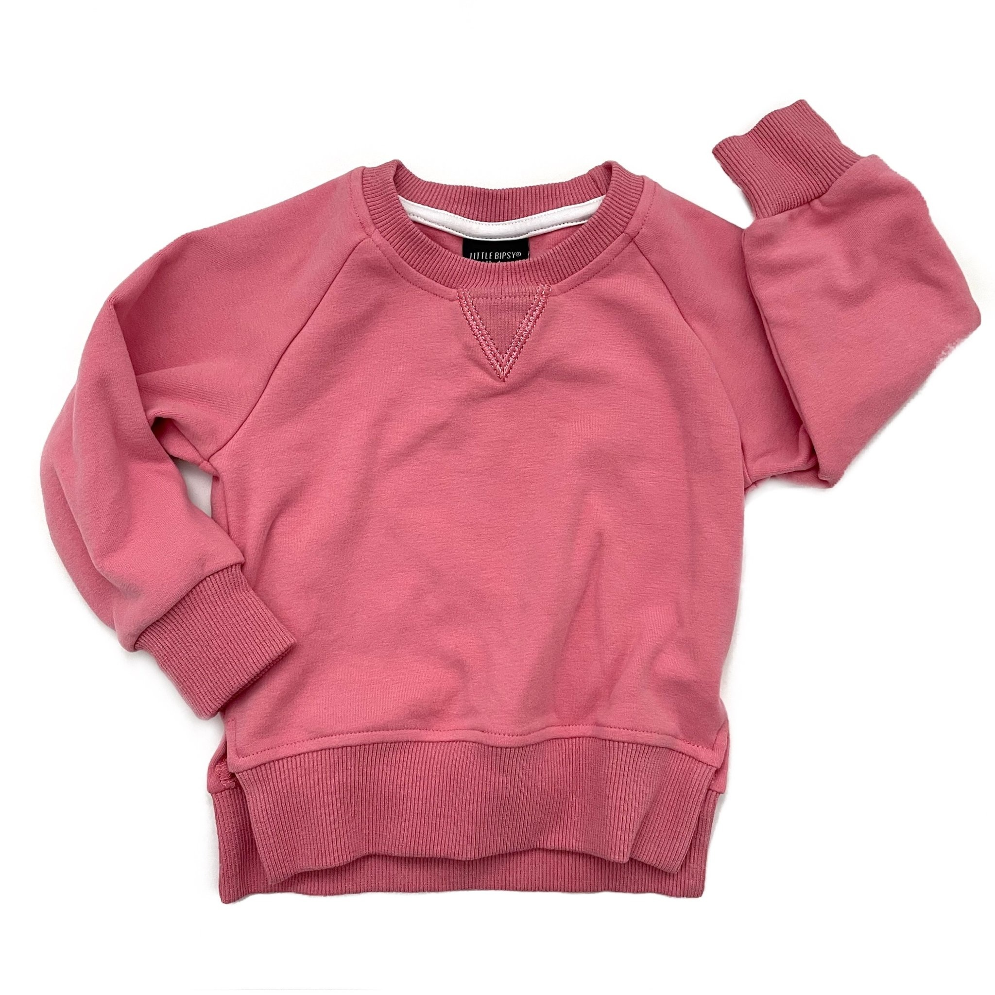 Little Bipsy LB Pullover- Watermelon Pink