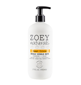Zoey Naturals Bubbly Bubble Bath- Sweet Citrus