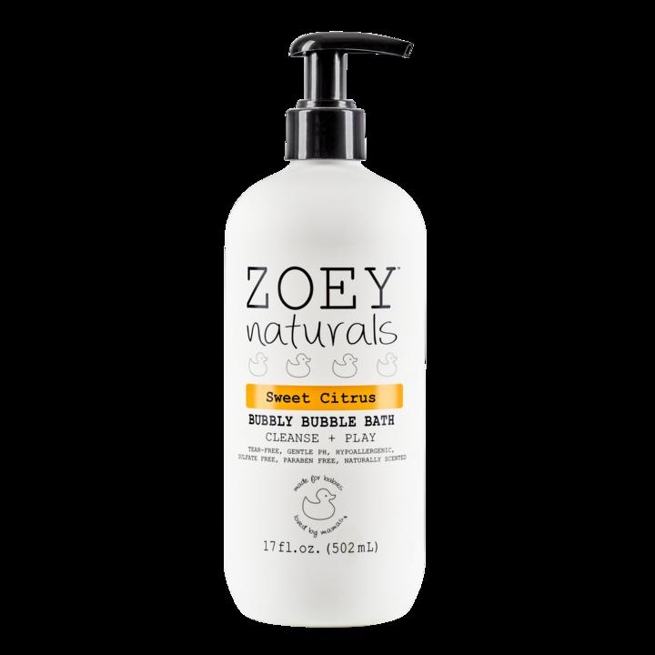 Zoey Naturals Bubbly Bubble Bath- Sweet Citrus