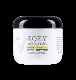 Zoey Naturals Body Butter- Vanilla Grapefruit