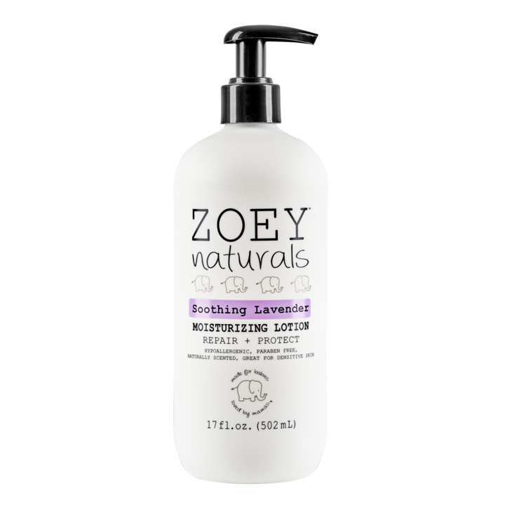 Zoey Naturals Moisturizing Lotion- Soothing Lavender
