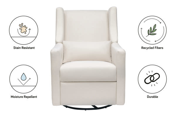 Babyletto Kiwi Electronic Chair- Eco performance fabric